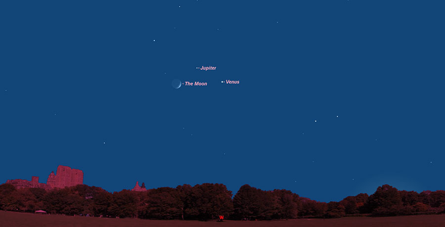 Jupiter will shine Saturday night