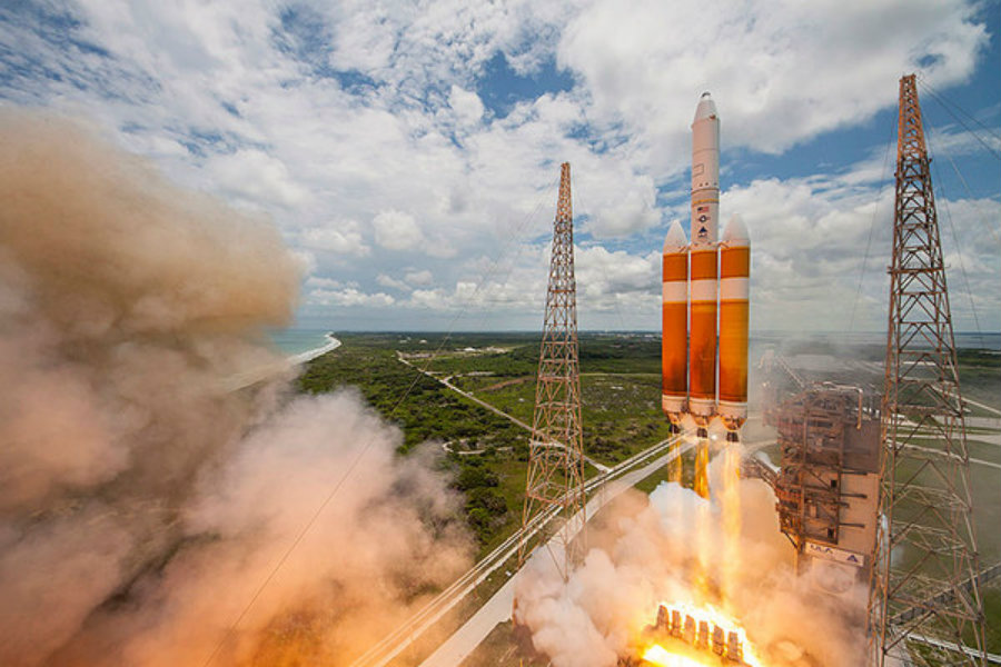 The NRO launched a spy satellite last Saturday, June 11, 2016. Its objective is classified, but they said they used the biggest rocket the organization has in service at the moment, the Delta IV. Photo credit: United Launch Alliance / Christian Science Monitor