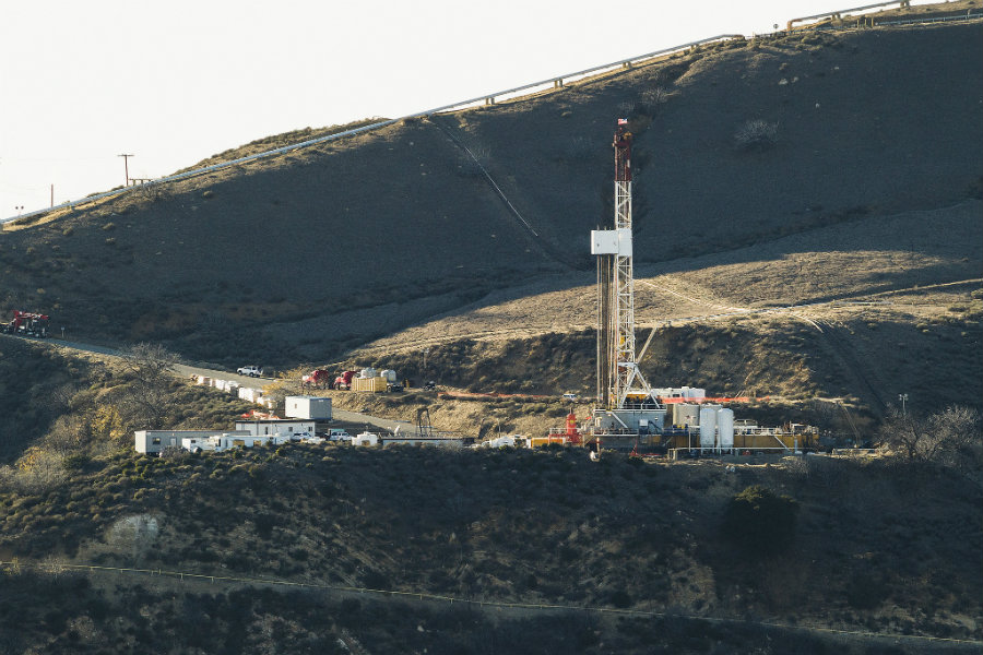 The tremendous Aliso Canyon methane gas leak that took place in Los Angeles last year was identified by the Hyperion spectrometer, a device carried by NASA's Earth Observing-1 satellite. Photo credit: Scott L. / Business Wire