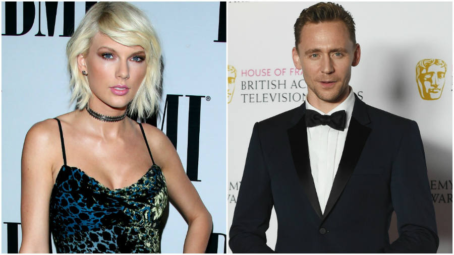 Famed singer Taylor Swift and renowned actor Tom Hiddleston were spotted on a beach sharing a kiss or two. Image Credit: ET Online