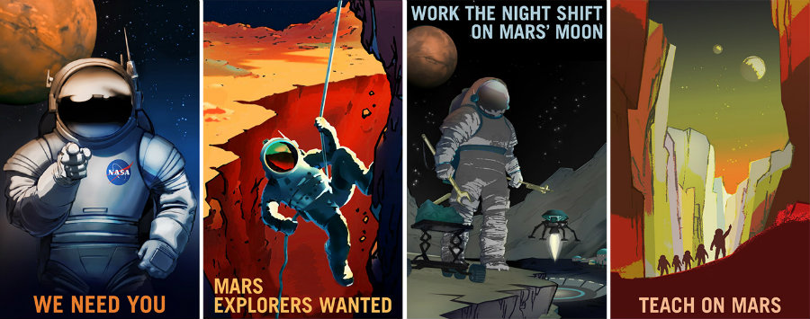 NASA is looking for surveyors, farmers, teachers, and technicians who dare to join the adventure of exploring Mars. Photo credit: Today USA