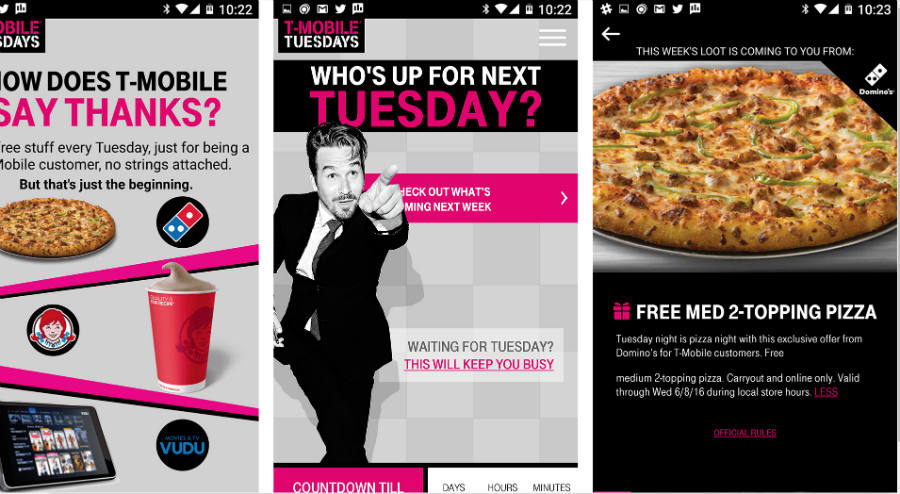 T-Mobile's Tuesday promotion served to exceed all expectations as customers managed to make Domino's pull out the promotion for good. Image Credit: PC World