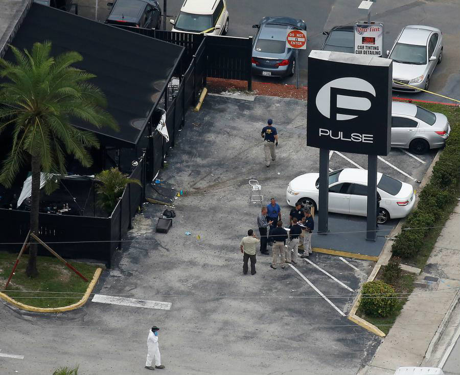 A U.S. official said that during Mateen's call to 911 in which he played allegiance to ISIS, he also mentioned the Boston Marathon bombers. Image Credit: TIME