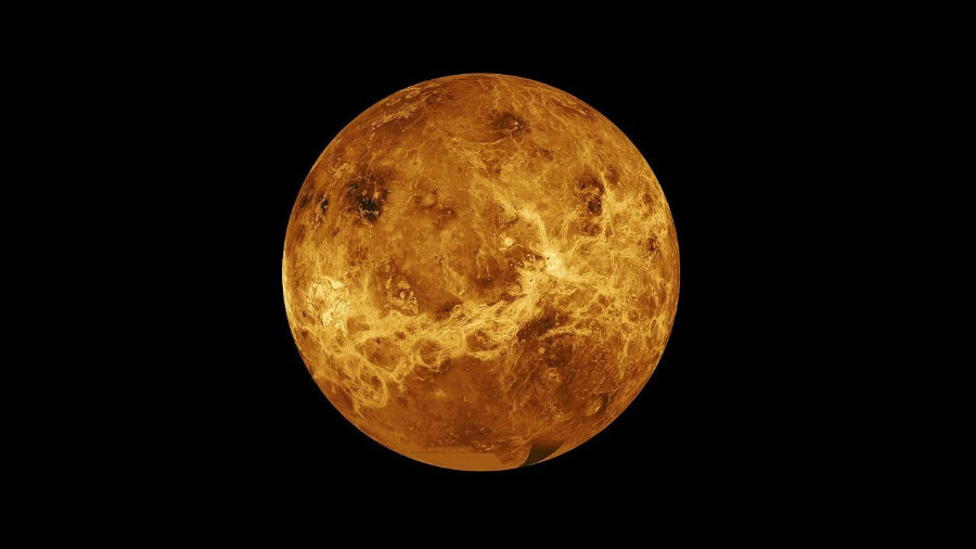 An electric wind in Venus is capable of eliminating water components such as oxygen from its upper atmosphere. Photo credit: Astrology King