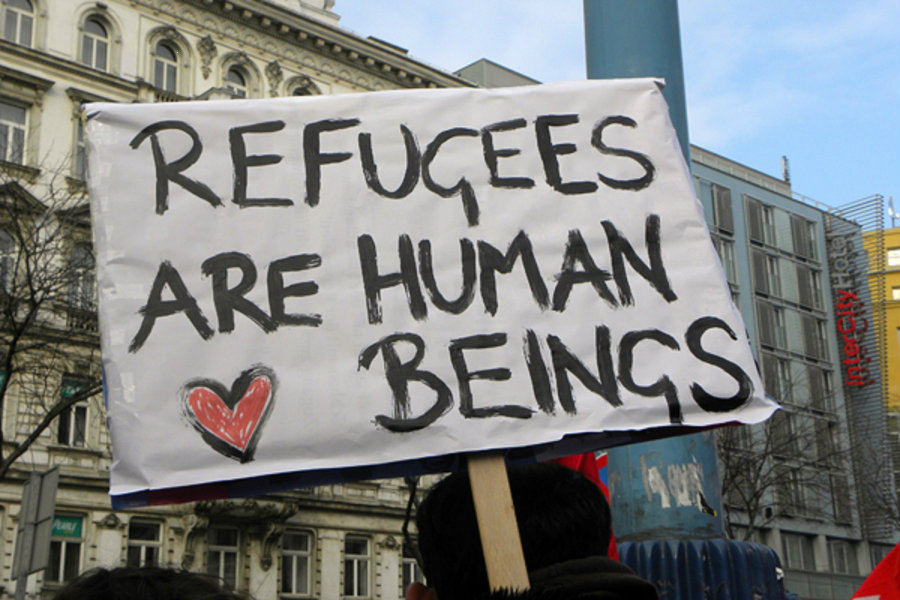 The United Nations Refugee Agency has recorded a sum of at least 65.3 million people being displaced from their homes, mostly due to fighting and violence in their countries. Photo credit: Forbes