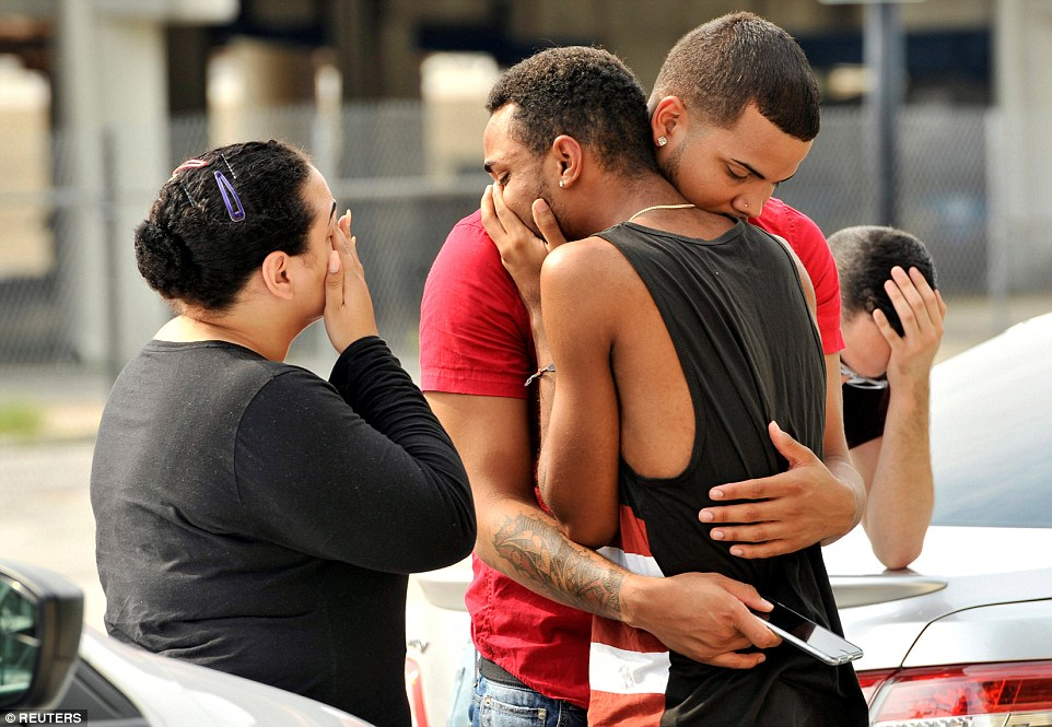 Two witnesses of the tragic events happened at Pulse nightclub in Orlando. The death toll for Pulse's shooting rose up to 50 people dead, making Omar Mateen the worst mass shooter in the U.S. currently. Image Credit: Daily Mail