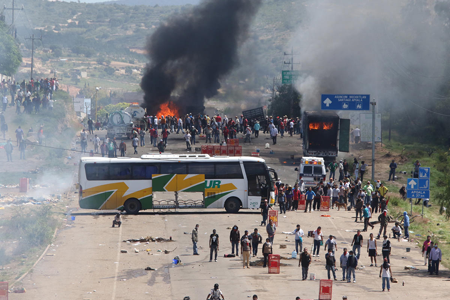 Oaxaca-riots
