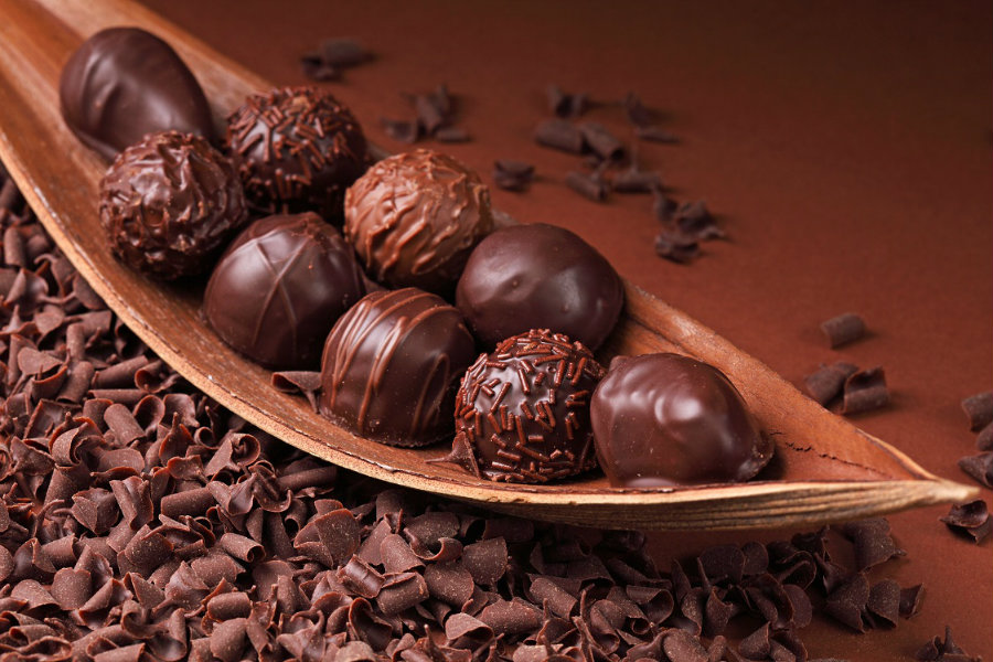According to research published in the journal Proceedings of the National Academy of Sciences, chocolate can be healthier and tastier when engaged in an electric shock treatment.  Photo credit: Food and Travel