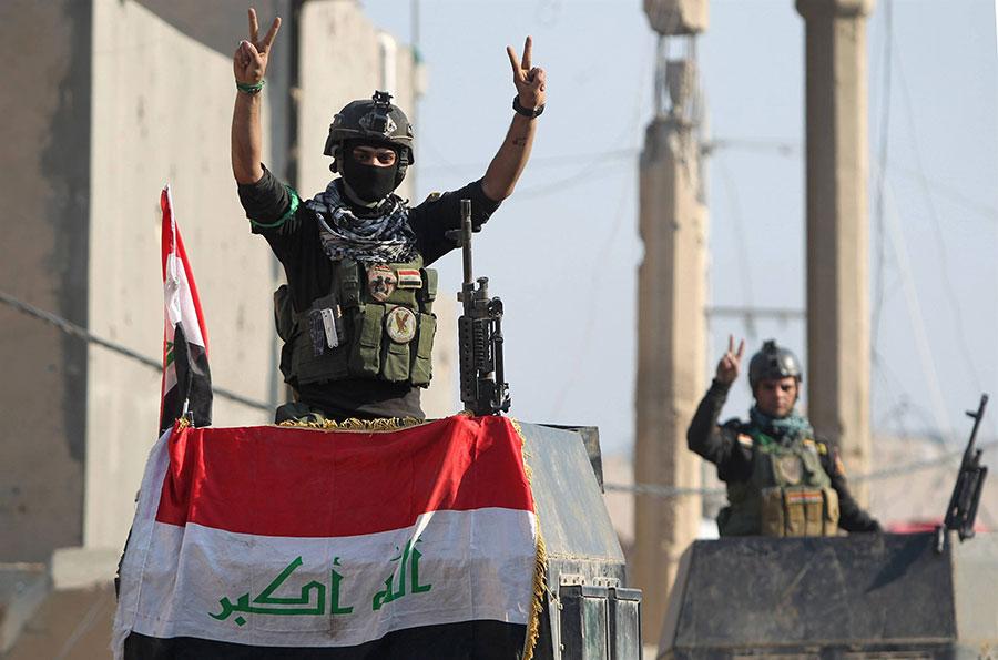 Iraqi troops recover Fallujah