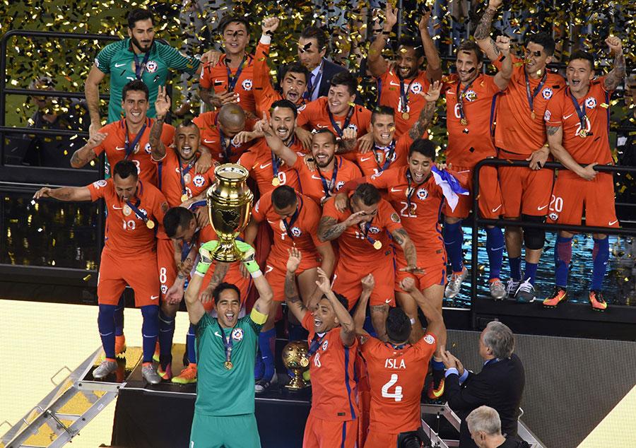 Chile wins Copa America
