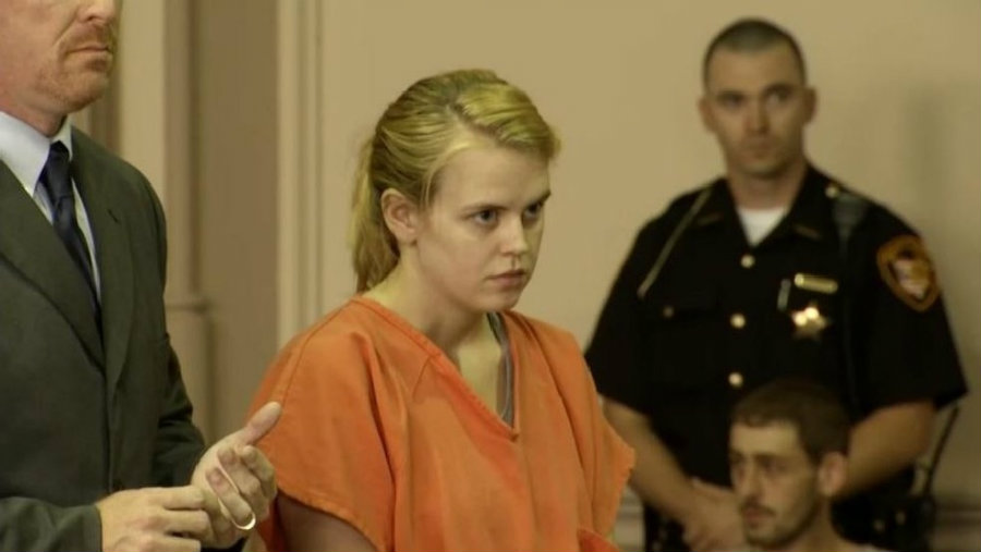Former Muskingum University student was sentenced to life in prison after finding guilty for killing her newborn daughter. Photo credit: AP / Fox 45 Now