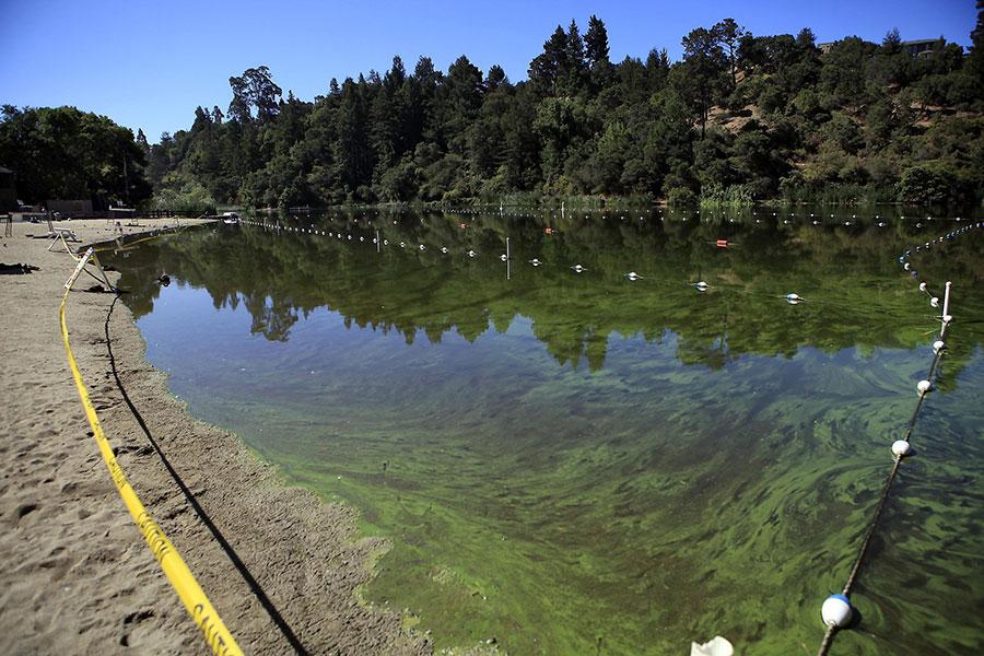 Lake Temescal closed