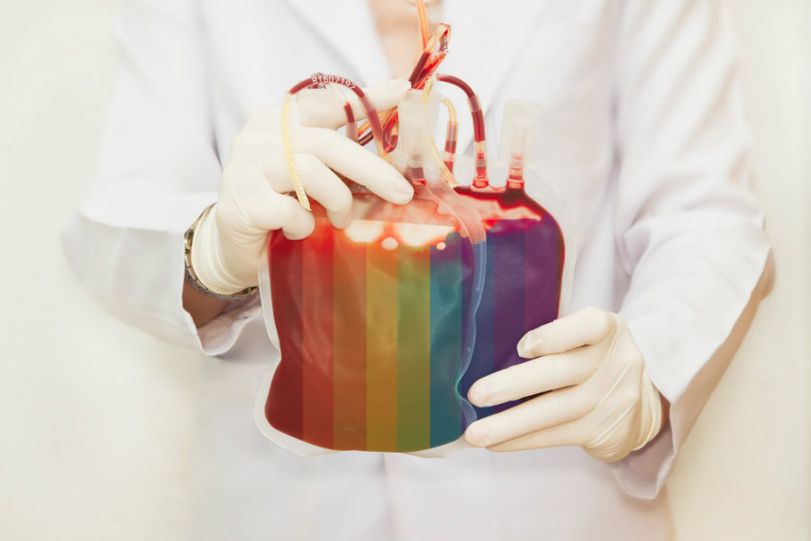 Openly gay Colorado Rep. Jared Polis and Florida rep. Alan Grayson on Tuesday joined the Progressive Change Campaign Committee and more than 130 members of Congress to urge the U.S. Food and Drug Administration to stop banning gay men from donating blood. Photo credit: The Daily Beast