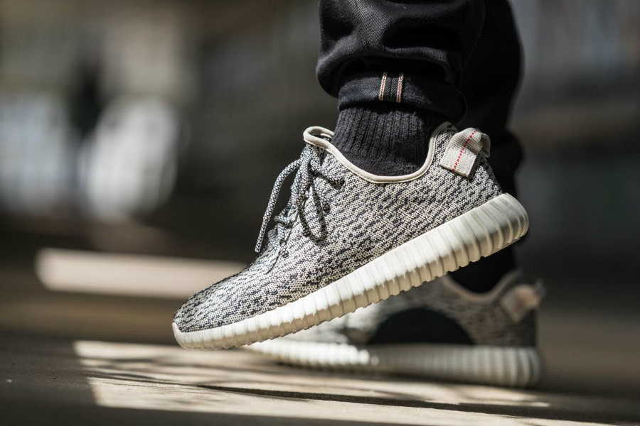 Sneaker-lovers became obsessed with the Yeezy Boost in collaboration with Adidas Originals sneakers. Photo credit: Adidas