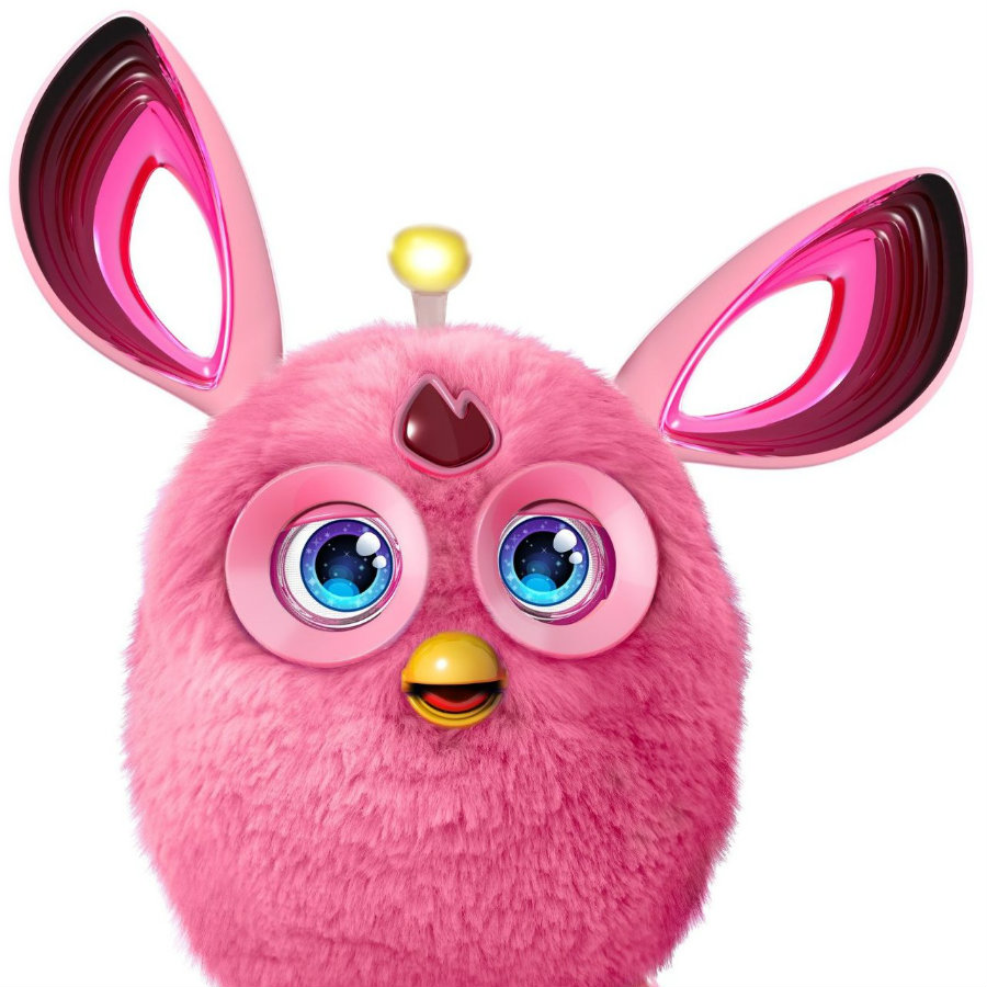 The latest release from the toy'maker giant Hasbro features an old classic Furby, yet revamped. The new Furby comes with major updates like Bluetooth integration and movement sensors. Image Credit: PC Mag