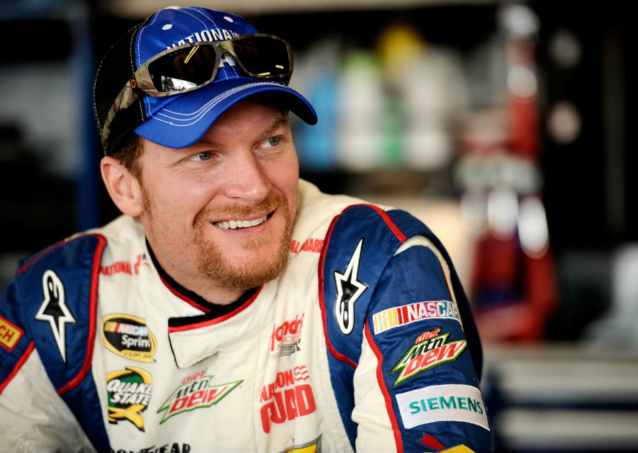 Dale Earnhardt Jr. is aiming towards earning his first victory in this NASCAR season as he is trying to up his 12th spot in the Chase rankings. Photo credit: Richest Celebrities.org