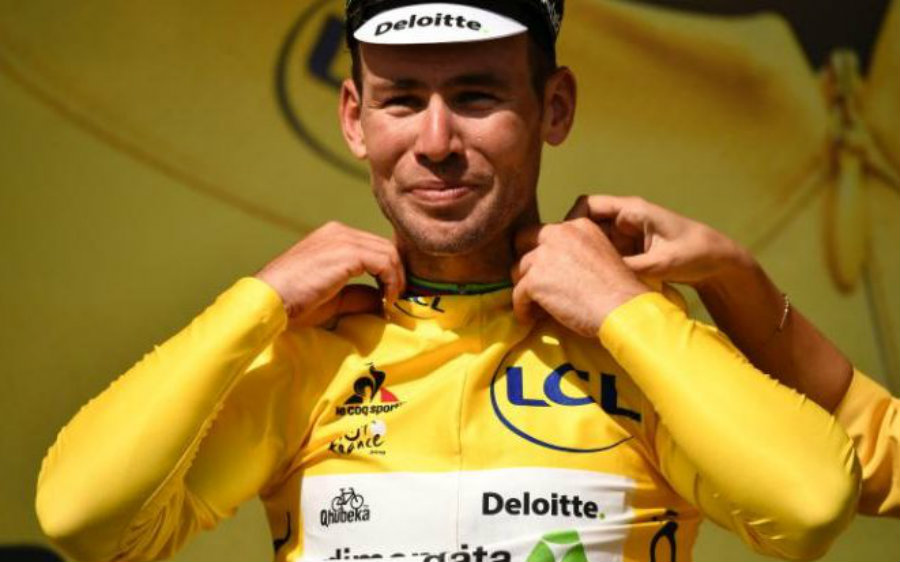 There's also a white jersey with rainbow stripes that can only be worn in the race by the world champion. Teams that reach the lowest time rates are awarded yellow race numbers and yellow helmets. Image Credit: Telegraph
