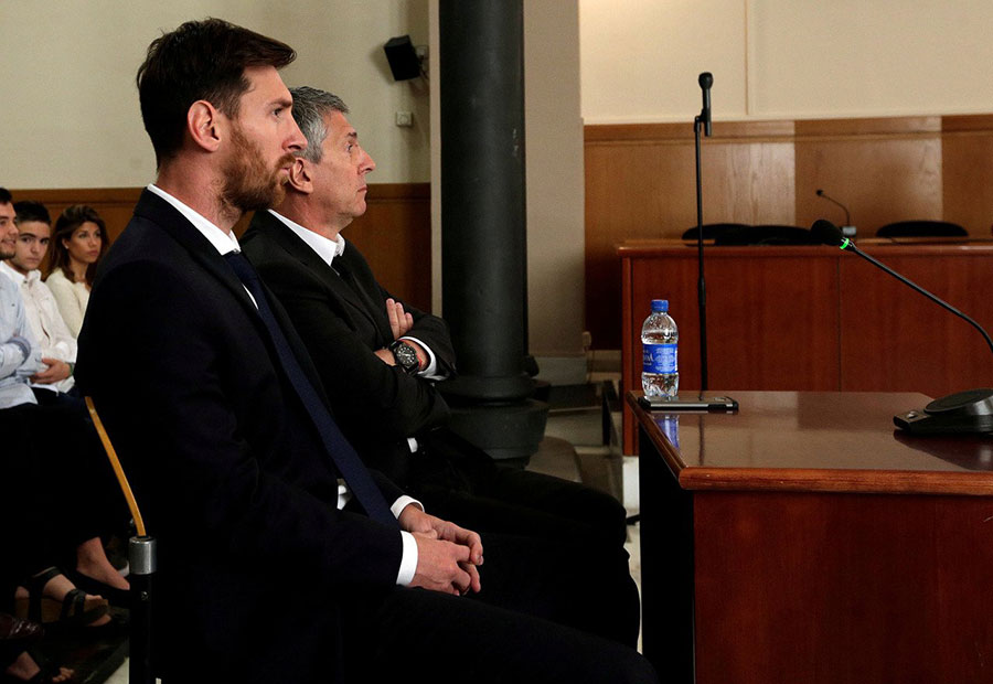 Messi's tax fraud