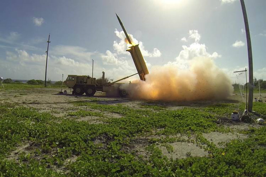 Chinese state media said, according to NPR, that China claims discrepancies between THAAD's capabilities and the South Korea's defense needs. Image Credit: Wall Street Journal