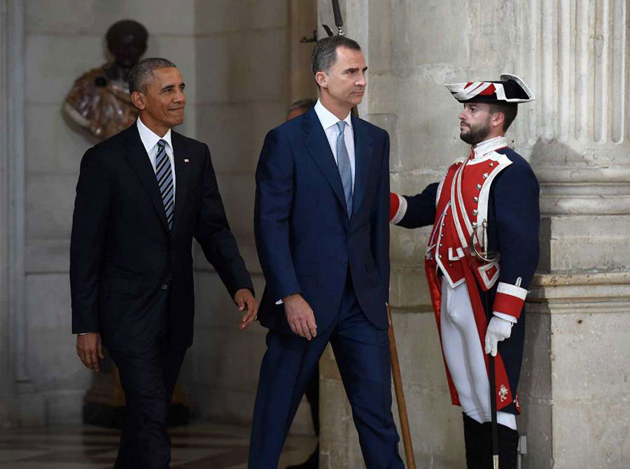 Obama in Spain