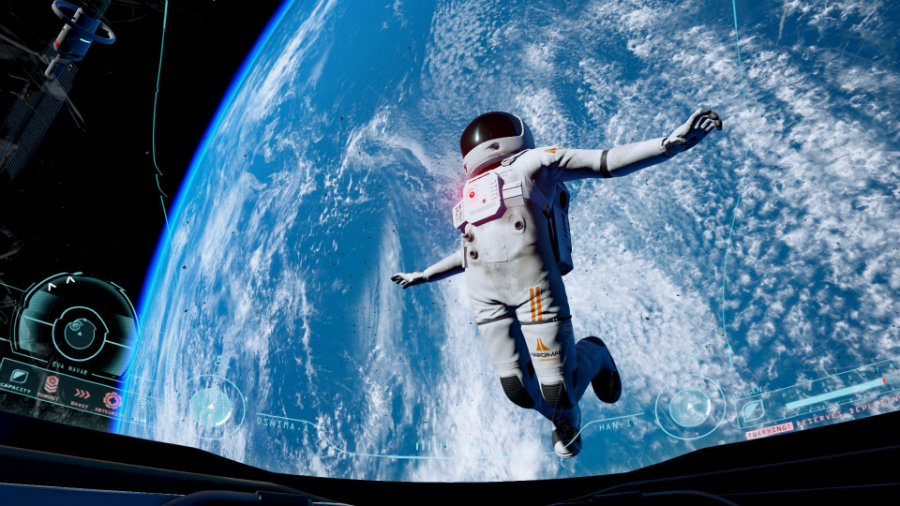 The much-anticipated space station game, ADR1FT, developed by Three One Zero studio will be arriving on Sony consoles next week. Photo credit: New Game Network