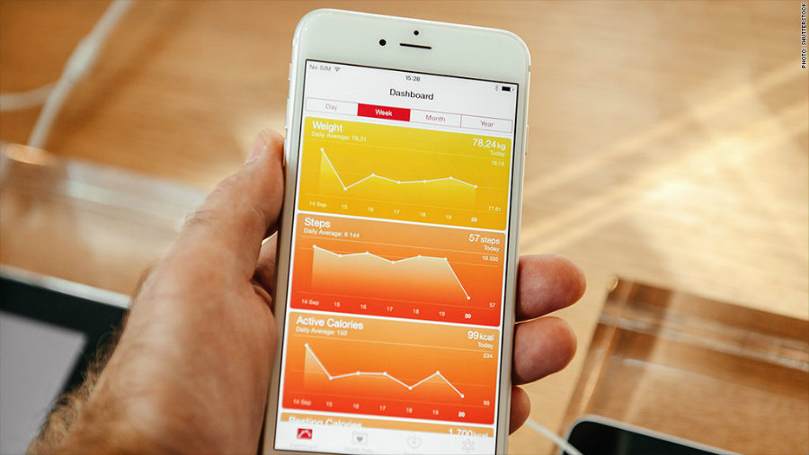 Apple announced Tuesday that the launch of iOS 10 will come with a new feature in its Health app in collaboration with Donate Life America, which will allow users to sign up in an easy way to the National Donate Life Registry right from their iPhones. Photo credit: CNN Money