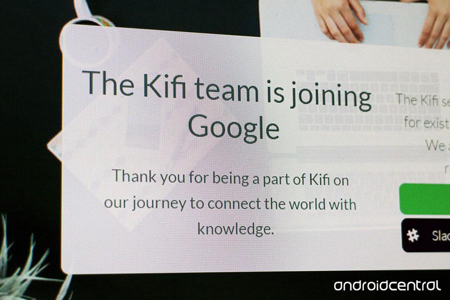 Google buys Kifi