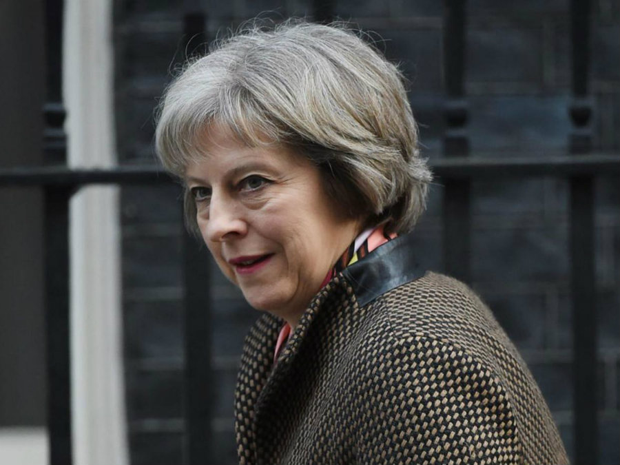 Theresa May, the first after-Brexit Prime Minister, chose Boris Johnson as the Foreign Secretary. Still, in the U.K.'s structure that is not a dominant position. Photo credit: Theresa May EPA / Independent