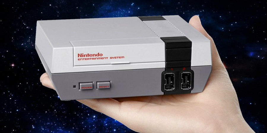 Nintendo released an official mini NES collector's edition on Thursday. The company said players were going to be able to play 30 NES originals on the console. Photo credit: Screen Rant