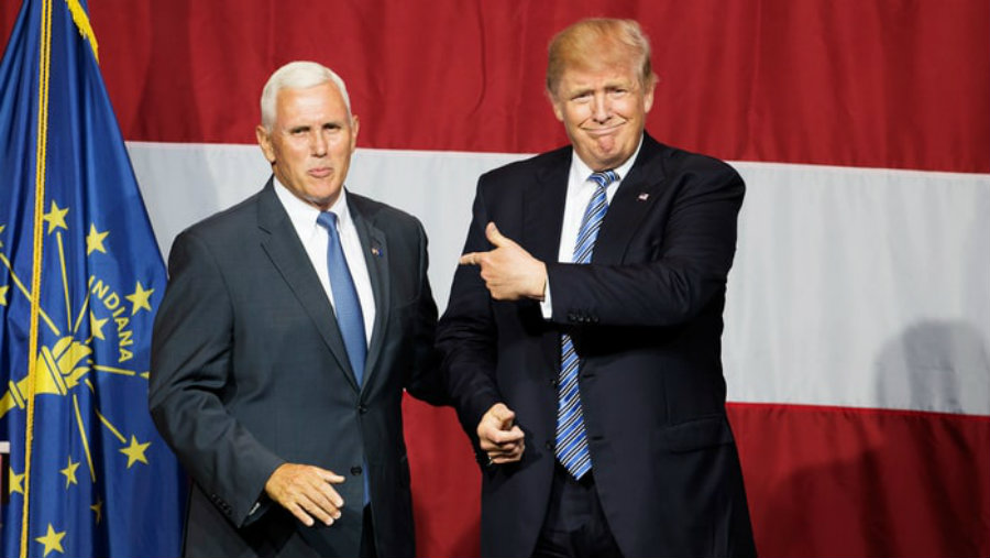 Analysts suggest that Pence will not be able to carry successfully out a re-election campaign, which is why a much dominant position as Trump's running mate is preferred in his case. Image Credit: US Magazine