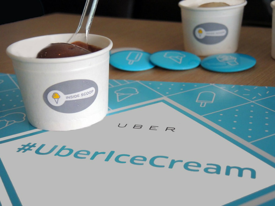 Given the ride-hailing company's reach, the fact Uber didn't think of this before it's nothing but astounding. Still, #UberIceCream has been well received in over 400 cities. Image Credit: Vulcan Post