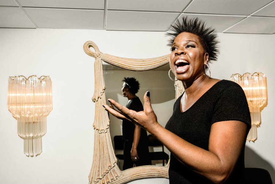 Ghostbusters star, Leslie Jones, publicly defended herself from racist and hateful remarks on Twitter and ended up closing her account. Photo credit: Jonno Rattman / The New Yorker