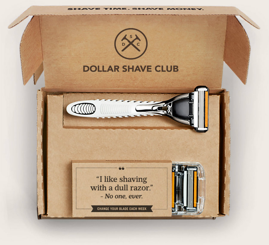 Dollar Shave Club offers three membership plans, which can be upgraded or downgraded at any time. Image Credit: Boxba