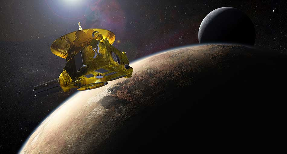 NASA's New Horizons Spacecraft Nears Historic July 14 Encounter with Pluto. Credit: NASA