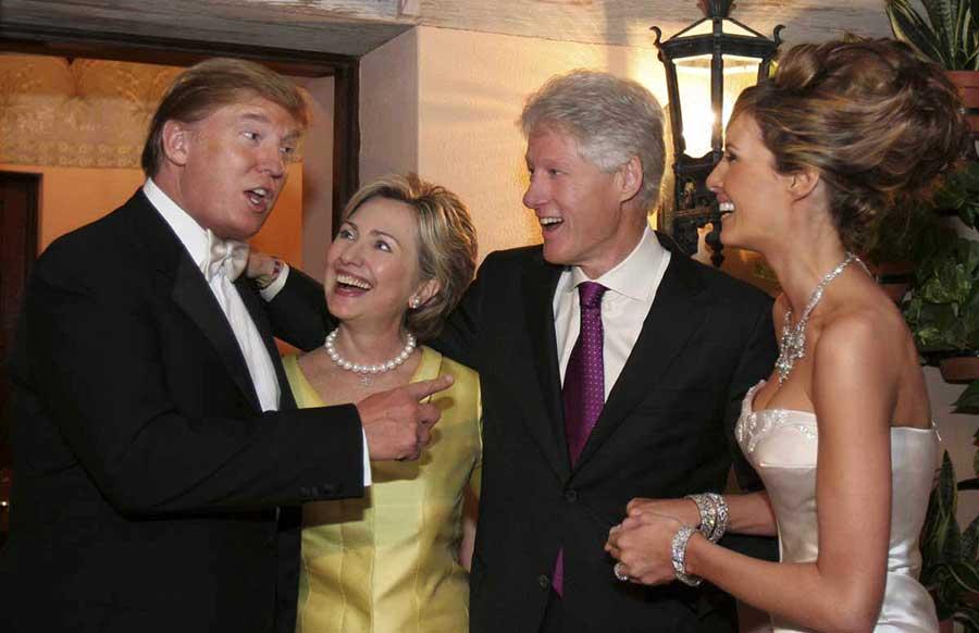 Trump-Clinton-polls