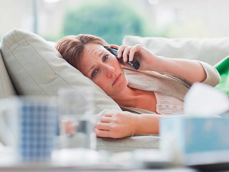 Calling-in-sick-
