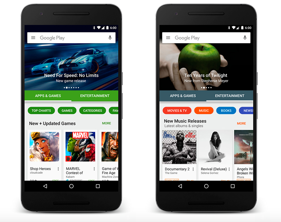 Google-Play's-makeover