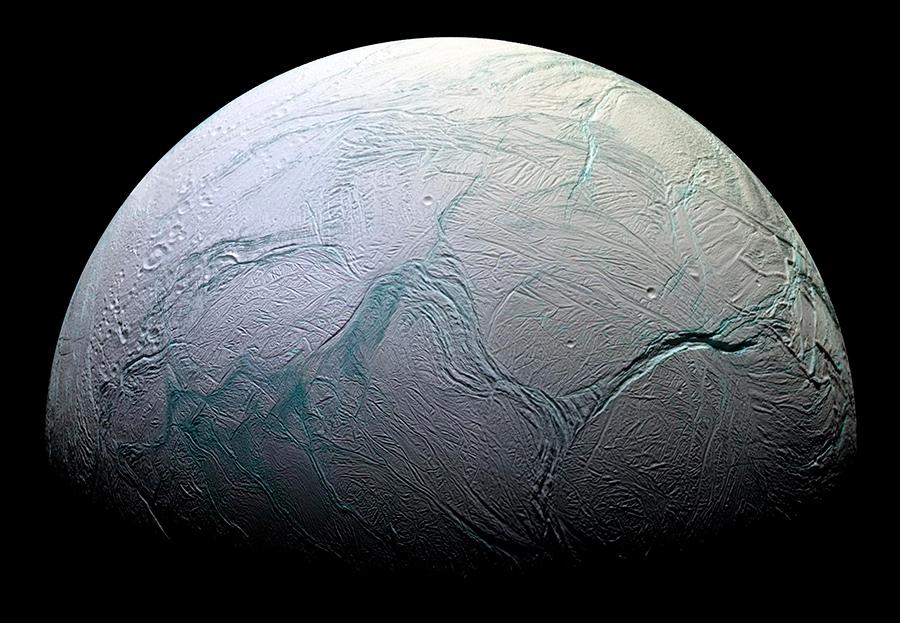 Saturn's-Moon-Enceladus