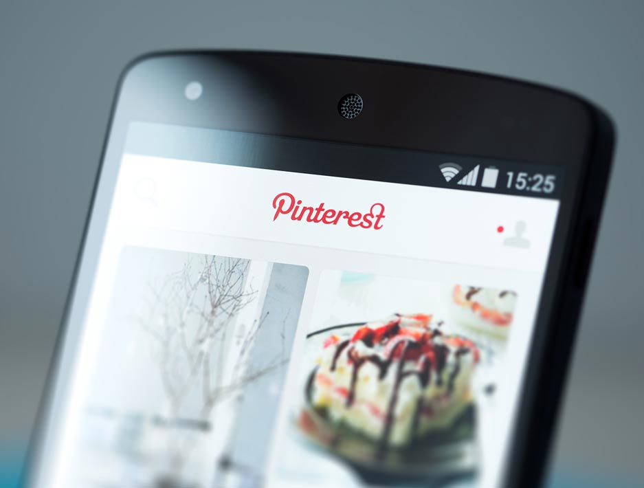 Pinterest visual search smart technology