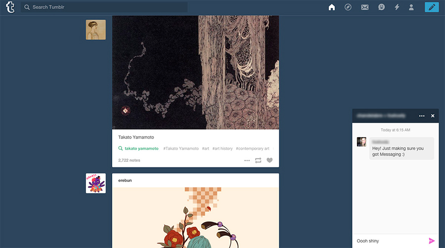 Tumblr-instant-messaging