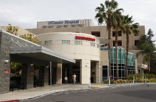 O'Connor Hospital hospital, located in San Jose, Calif., was photographed on Thursday, Oct. 15, 2015. Credit: Mercury News/Patrick Tehan/Bay Area News Group