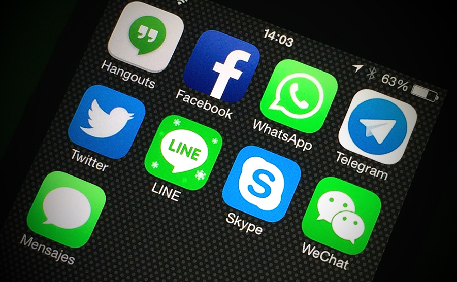 Wechat is making up its way among the most famous messaging apps. Photo: Forbes.