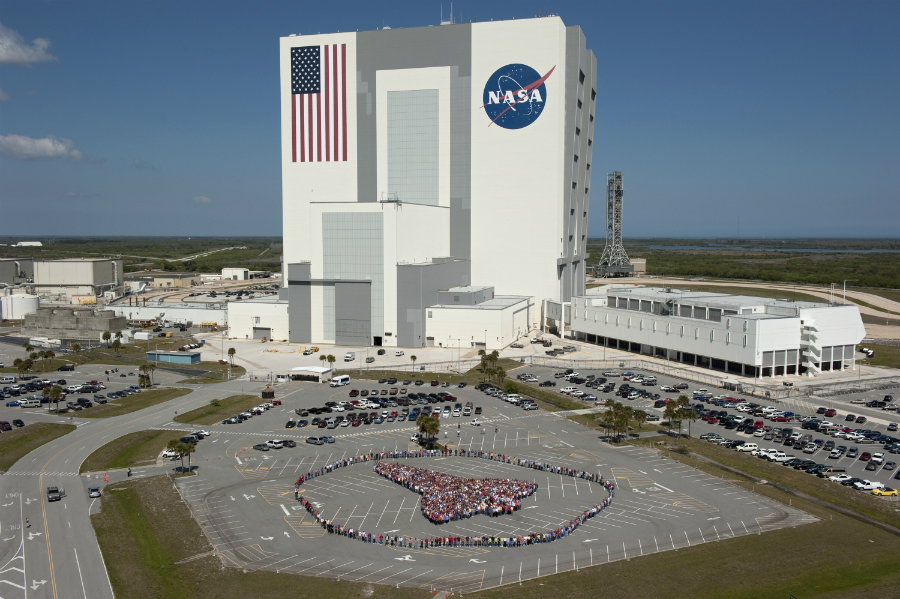 A photo of the NASA open for the public. Photo: Space/NASA.