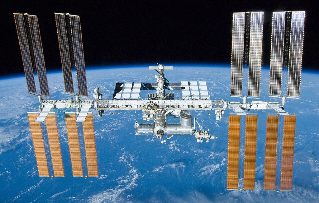 The International Space Station. Photo: NASA.