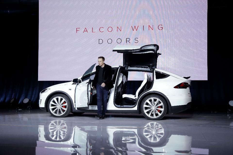 Elon Musk, Tesla's CEO. Photo: AP Photo/Marcio Jose Sanchez