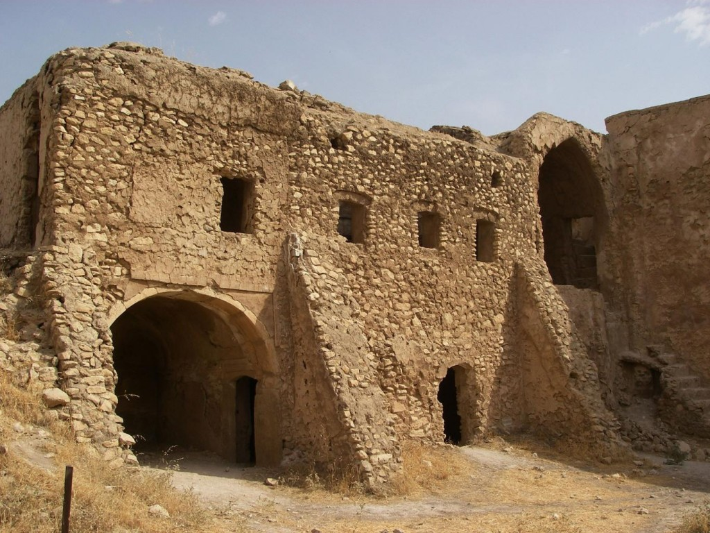 This Oct. 1, 2006, photo provided by the U.S. Army Col. Juanita Chang shows St. Elijah's Monastery on the outskirts of Mosul, Iraq. Credit: The Independent UK/AP