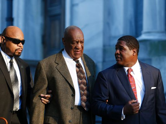 Bill Cosby arriving at the Montgomery County courthouse. Photo: USA Today/KENA BETANCUR, AFP/Getty Images