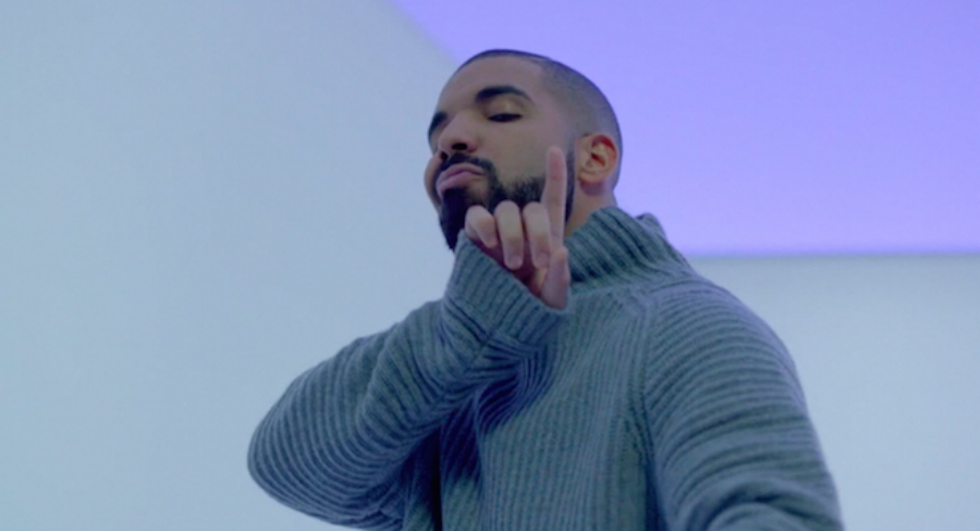"Drake in his music video ""Hotline Bling"". Photo: Pitchforl"