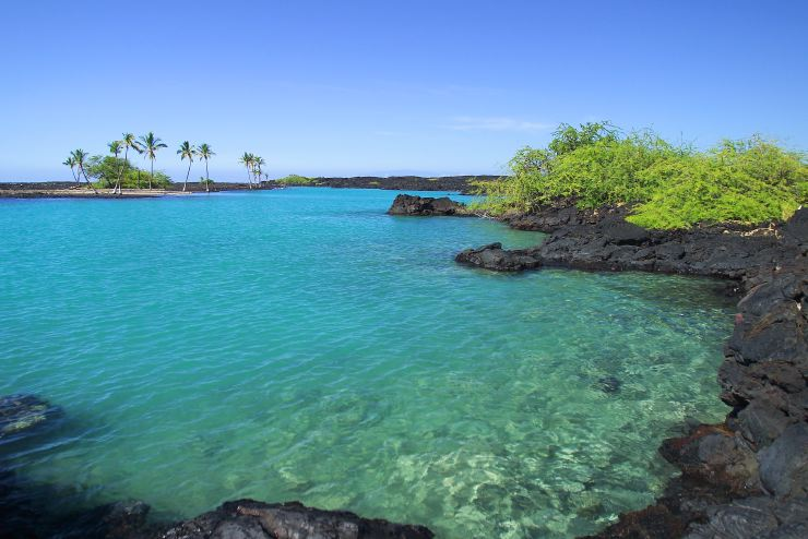 The Kiholo Bay of the beautiful Big Island. Photo: PBASE