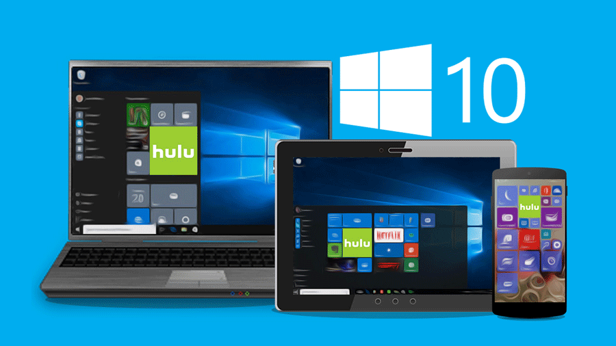 Hulu now comes preinstalled on all Windows 10 devices. Photo Credit: Salem State Log